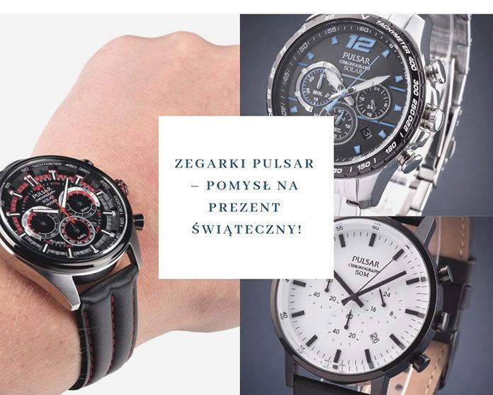 Zegarki Pulsar – doskonały pomysł na prezent świąteczny!